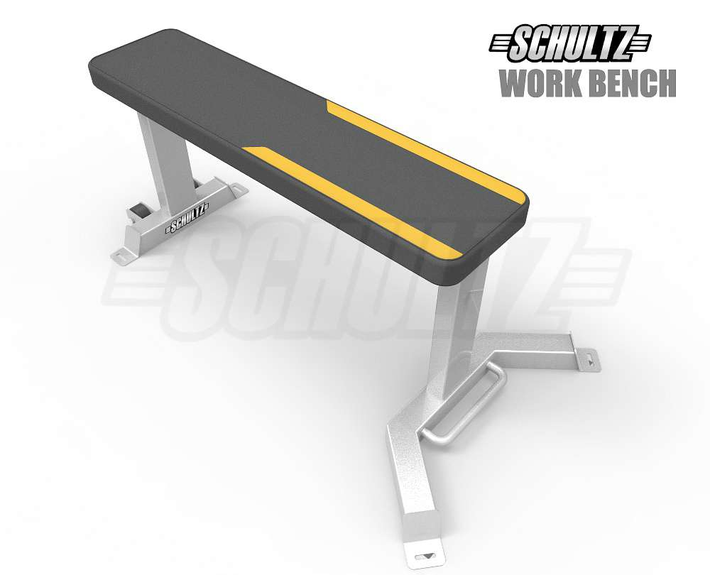 gym work bench|flat bench for gym