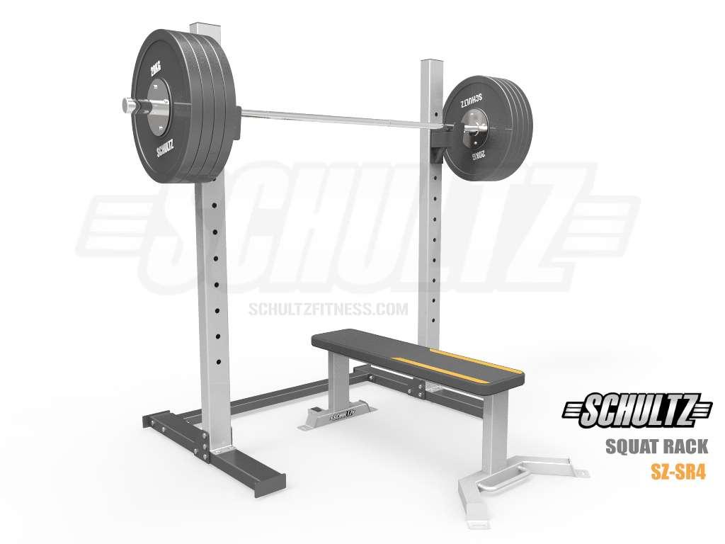 Gym Rack Powertec Workbench Power Rack Black Bodymax