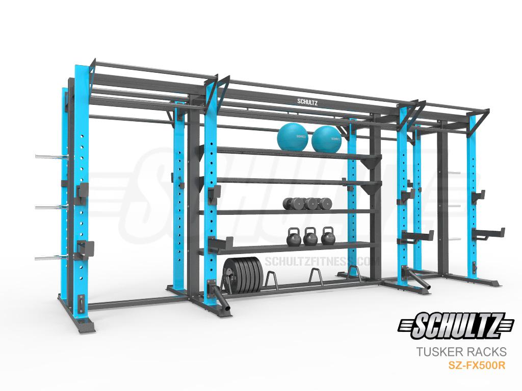 bumper plate storage crossfit rack
