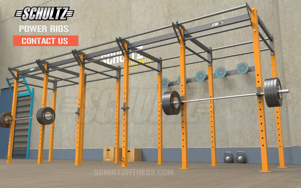 pull up rig for crossfit studio|cage type pull up rig